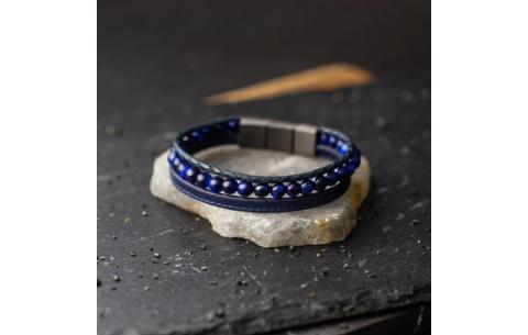 Bracelet Gemini Triple bleu