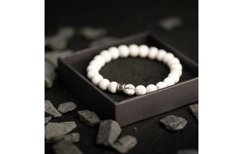 Bracelet Gemini Alpha Mat White