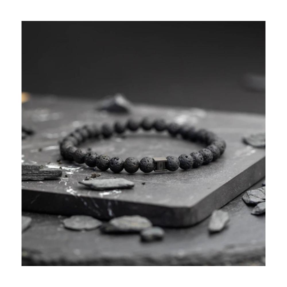 Bracelet Gemini Pierre de Lave