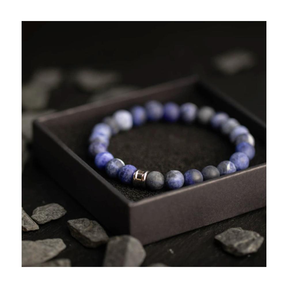 Bracelet Gemini Alpha bleu mat