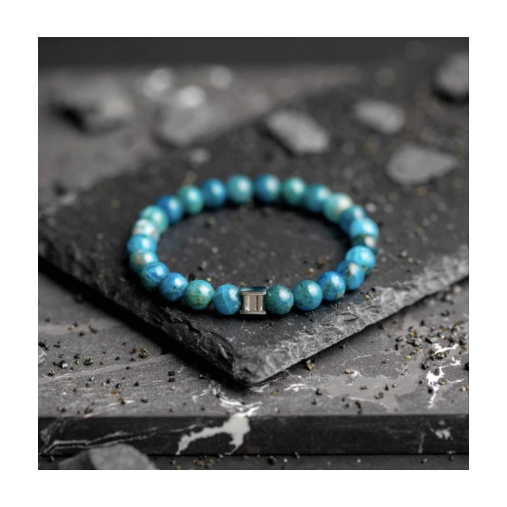 Bracelet Gemini Fos Bleu