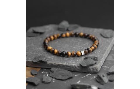 Bracelet Gemini petit Oeil de Tigre