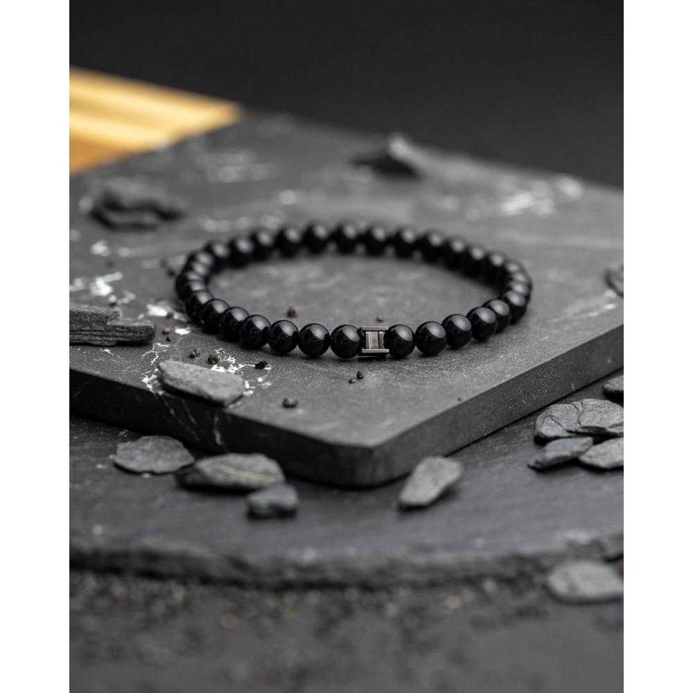 Bracelet Gemini Onyx noir